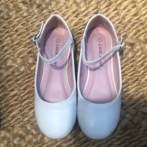 White Dress Shoes Size 1 First Communion Easter